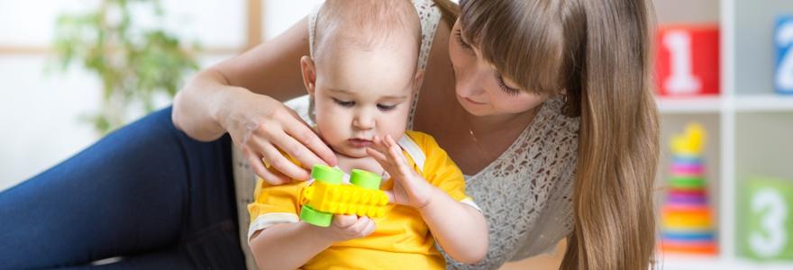 Service de babysitting à domicile en anglais